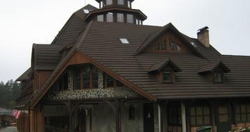 GERARD Lička šindra chestnut Hotel Szymbark